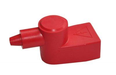 Afdekkap voor accuklem draadeind M10 set rood en zwart