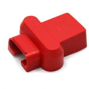 Afdekkap voor accuklem 2x50-70mm2 set rood en zwart